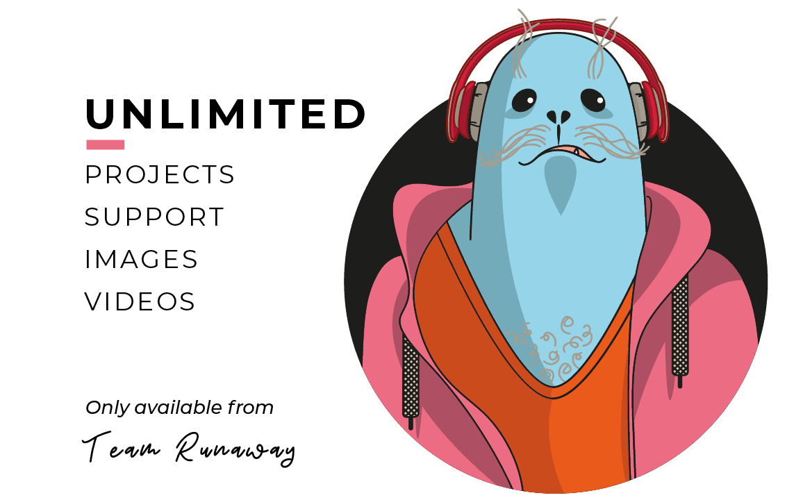 Runaway Collective Subscription Marketing, now unlimited